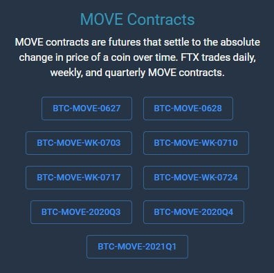 FTX Move Contracts