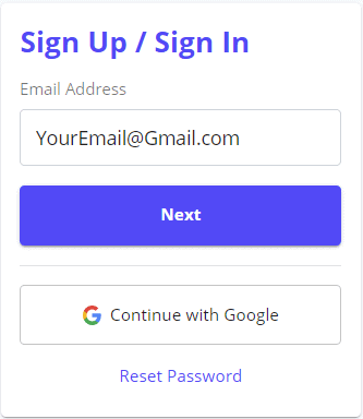 Signup Unstoppable Domains